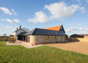 Composite Windows Norfolk Barn conversion
