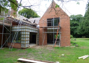 Well Close ongoing project Aluminium Clad Windows