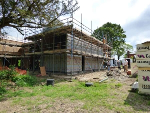 Rumburgh ongoing project for Aluminium Clad Windows