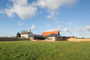Composite windows Barn Conversion Norfolk