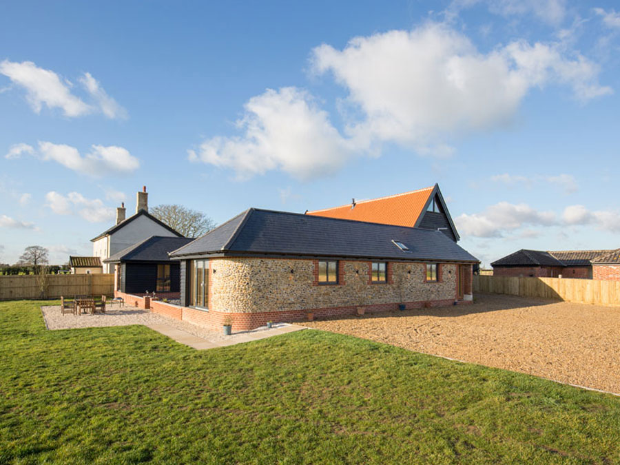 Composite Windows Norfolk Barn conversion